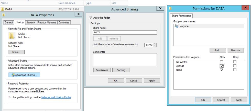Hướng dẫn cài đặt dịch vụ File Server môi trường workgroup - Phần 1 - Ảnh 2.