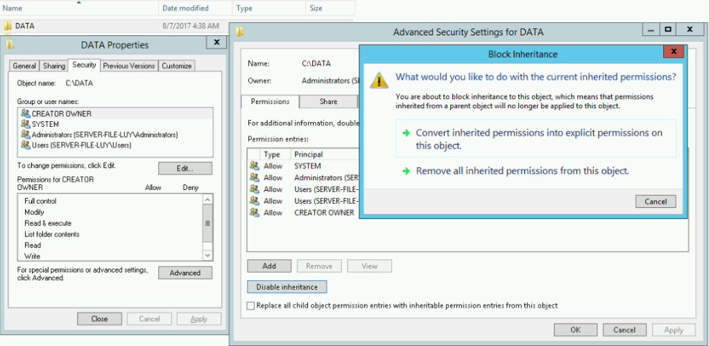 Hướng dẫn cài đặt dịch vụ File Server môi trường workgroup - Phần 1 - Ảnh 3.