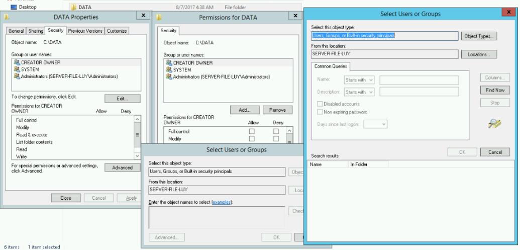 Hướng dẫn cài đặt dịch vụ File Server môi trường workgroup - Phần 1 - Ảnh 4.