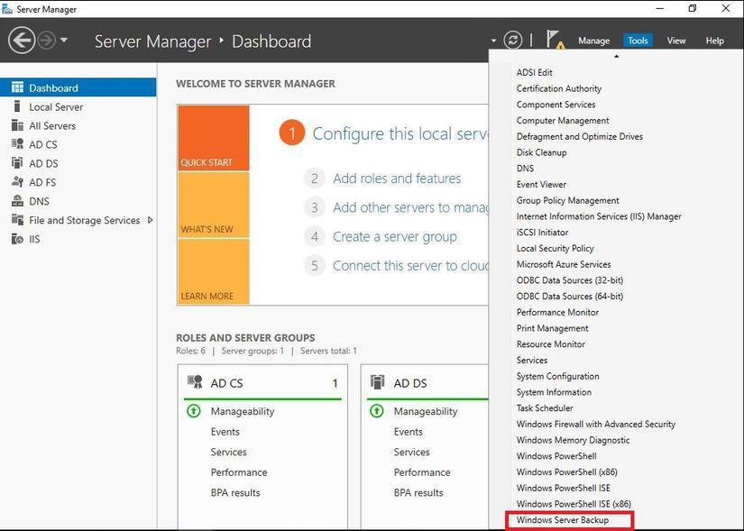 Hướng dẫn Backup & Restore trên Windows Server 2016 - Ảnh 5.