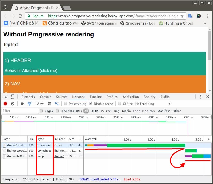 Tăng tốc độ tải trang với Progressive rendering - Ảnh 2.