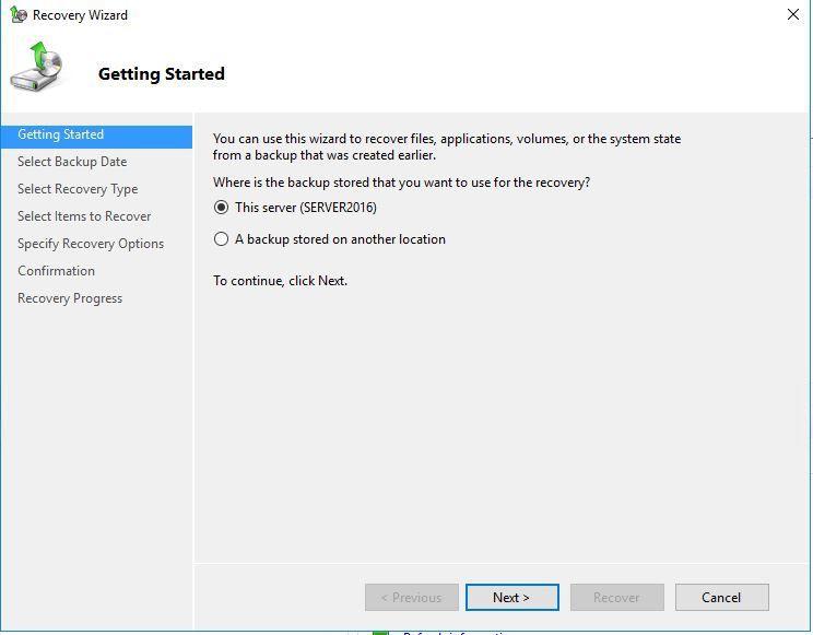 Hướng dẫn Backup & Restore trên Windows Server 2016 - Ảnh 11.