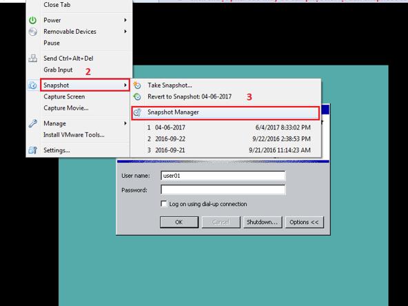 Hướng dẫn sử dụng snapshot cơ bản trong VMware - Ảnh 5.