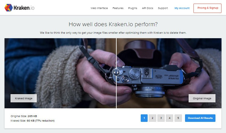 Hướng dẫn tối ưu ảnh bằng Kraken io  - Ảnh 1.