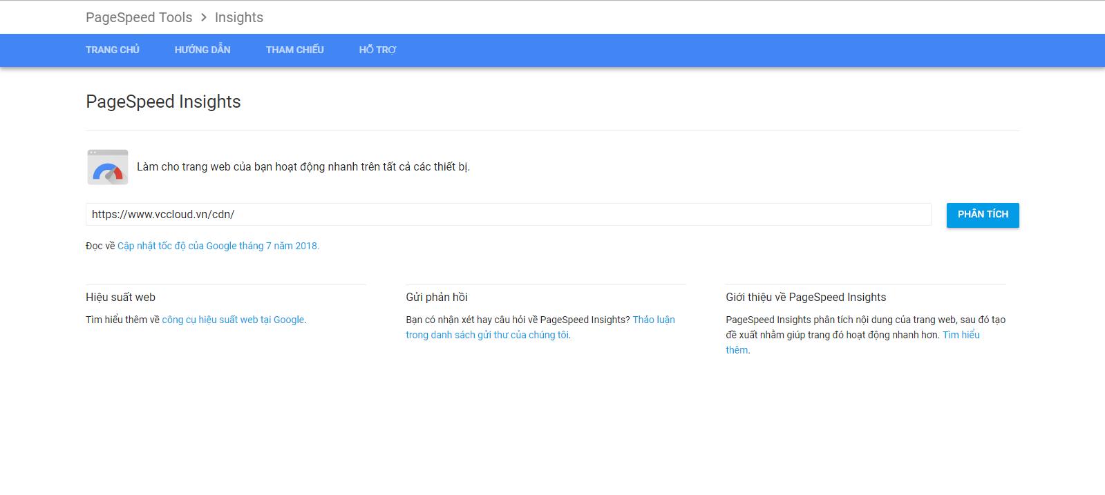 Tìm hiểu công cụ đánh giá tốc độ Google Speed Test - Ảnh 1.