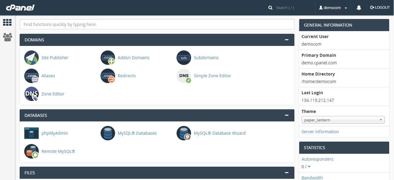 cPanel là gì? Hướng dẫn trình quản lý hosting cPanel cho người mới bắt đầu - Ảnh 2.