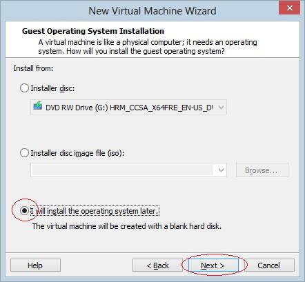 Hướng dẫn cài đặt hệ điều hành linux trên Window và VMware - Ảnh 8.
