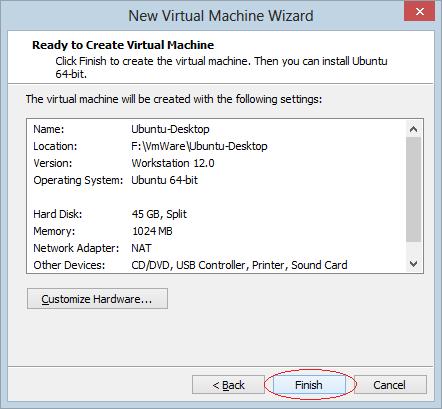 Hướng dẫn cài đặt hệ điều hành linux trên Window và VMware - Ảnh 12.