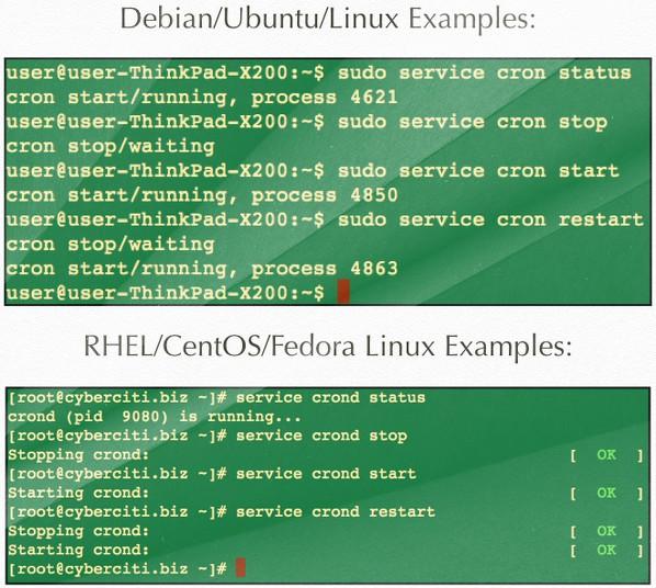 Start, Stop, Restart dịch vụ Cron trên Linux - Ảnh 1.