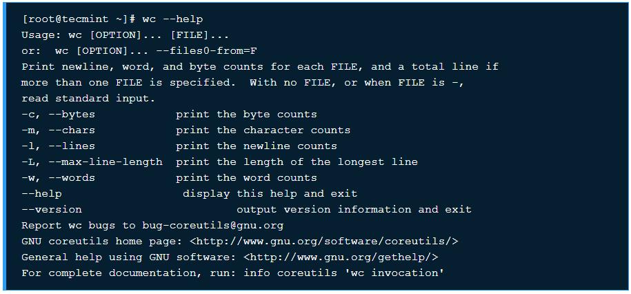 Hướng dẫn sử dụng lệnh WC kèm ví dụ trên Linux - Ảnh 1.
