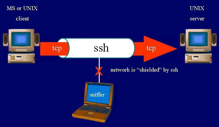 SSH là gì, SSH hoạt động như thế nào? - Ảnh 1.