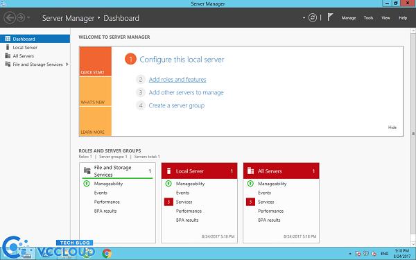 Hướng dẫn cài đặt .Net Framework 3.5 cho windows server 2012 - Ảnh 1.