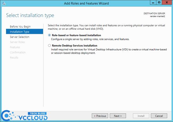 Hướng dẫn cài đặt .Net Framework 3.5 cho windows server 2012 - Ảnh 2.