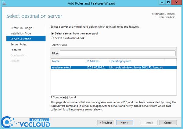 Hướng dẫn cài đặt .Net Framework 3.5 cho windows server 2012 - Ảnh 3.