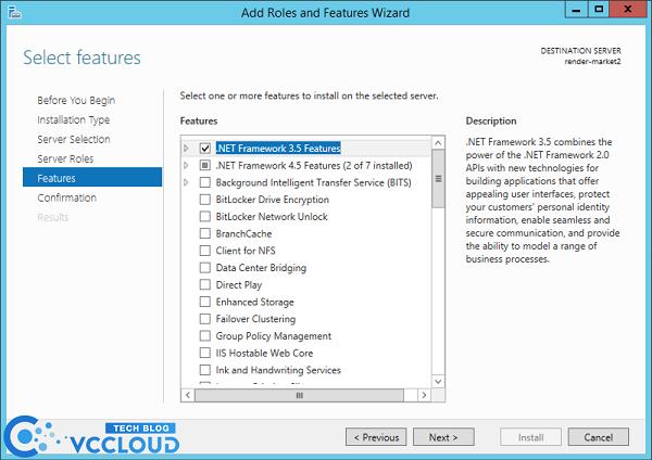 Hướng dẫn cài đặt .Net Framework 3.5 cho windows server 2012 - Ảnh 4.