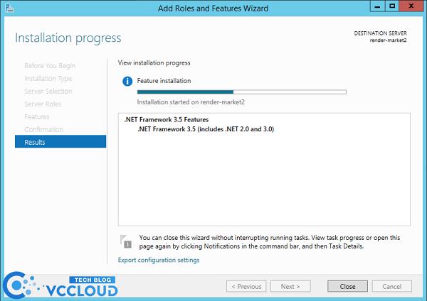Hướng dẫn cài đặt .Net Framework 3.5 cho windows server 2012 - Ảnh 5.