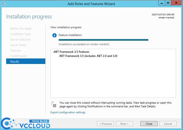 Hướng dẫn cài đặt .Net Framework 3.5 cho windows server 2012 - Ảnh 6.