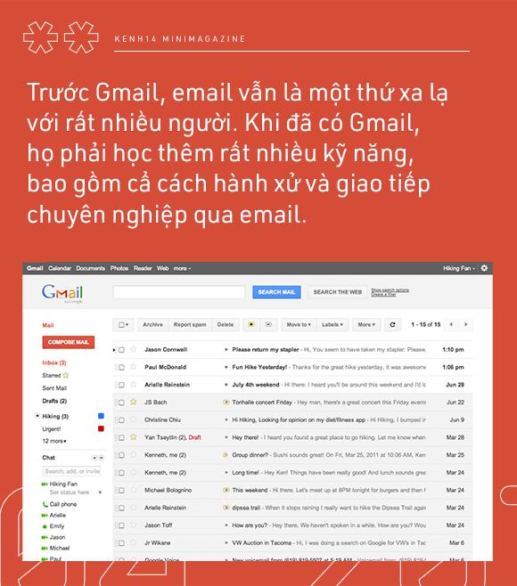 Nếu bạn chưa biết: Google mail đã 15 năm tuổi, và cũng đã 15 năm chúng ta có một môi trường làm việc ảo chuyên nghiệp! - Ảnh 4.