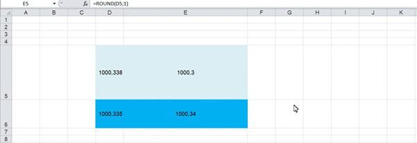 7 cách làm tròn số trong Excel đơn giản nhất - Ảnh 5.