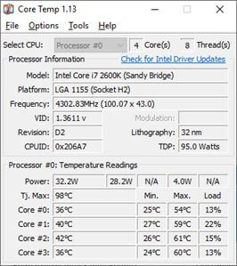 Cách kiểm tra nhiệt độ CPU máy tính bằng phần mềm trên win 10 - Ảnh 2.