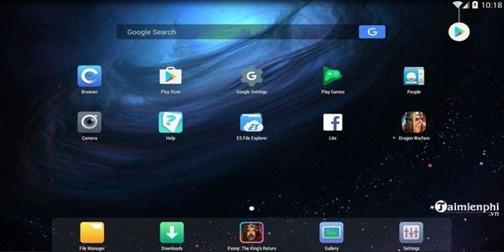 Top 10 phần mềm giả lập android nhẹ nhất trên PC cho máy chạy yếu - Ảnh 4.