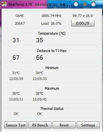 Cách kiểm tra nhiệt độ CPU máy tính bằng phần mềm trên win 10 - Ảnh 4.