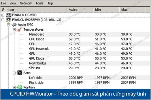 Cách kiểm tra nhiệt độ CPU máy tính bằng phần mềm trên win 10 - Ảnh 6.