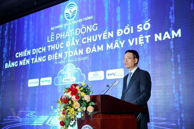 Việt Nam sẽ thúc đẩy chuyển đổi số bằng công nghệ điện toán đám mây - Ảnh 1.
