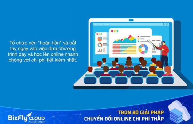 Lựa chọn tiết kiệm hậu Covid-19: Chuyển đổi online nhanh và rẻ cho các tổ chức học online - Ảnh 1.
