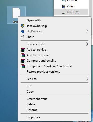 Cách mở và chỉnh sửa File Host Win 10 - Ảnh 3.
