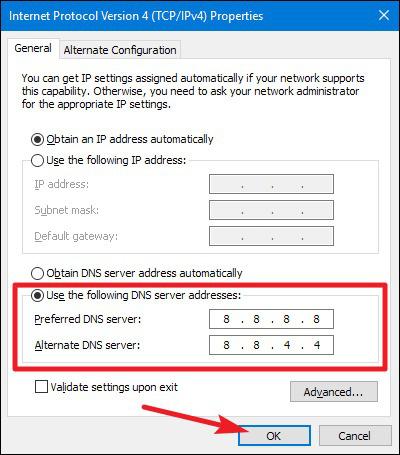 Hướng dẫn đổi DNS Google cho Windows 10, 7, 8 - Ảnh 5.