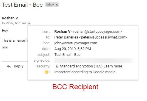 CC trong gmail là gì? Cách sử dụng các tính năng CC và BCC trong Gmail - Ảnh 8.