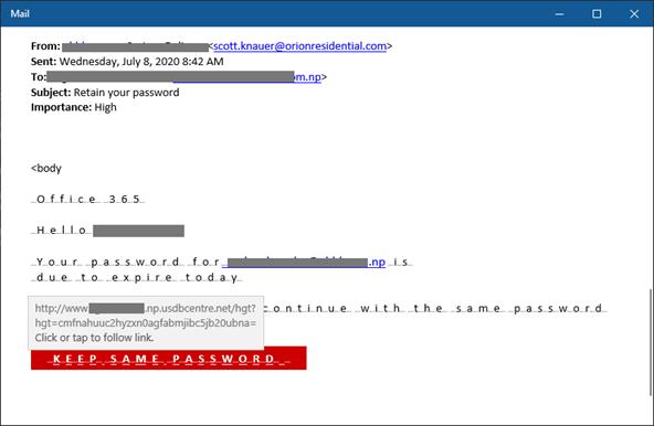 Hơn 600 tổ chức bị tấn công bởi Chiến dịch lừa đảo giả dạng Microsoft Office365 - Ảnh 2.