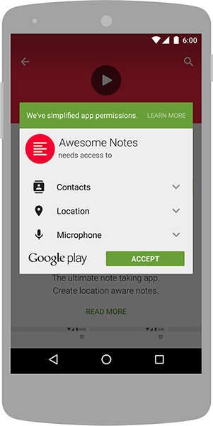 Quyền truy cập ứng dụng Android App Permission - Ảnh 1.