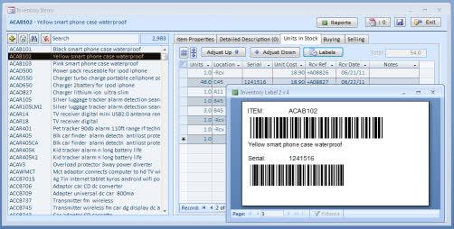 Phần mềm quản lý kho ABC Inventory