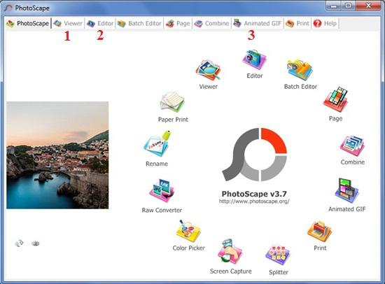 Phần mềm ghép ảnh trên máy tính PhotoScape