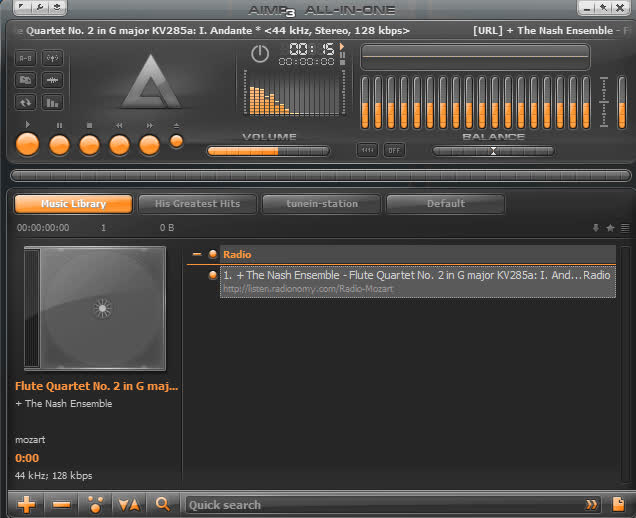 Hình ảnh phần mềm nghe nhạc - 6