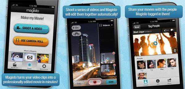 Phần mềm làm video trên điện thoại Magisto