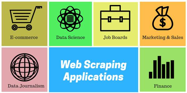 Scraping là gì? Sử dụng Web Scraper trong nhiều lĩnh vực