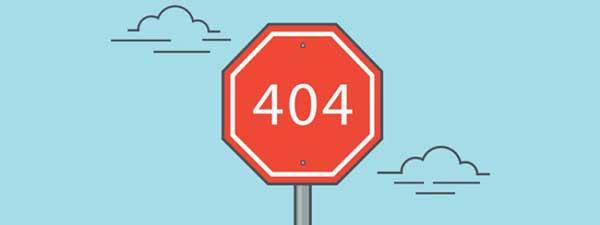 Nguyên nhân gây ra lỗi 404 Not Found do đường dẫn sai