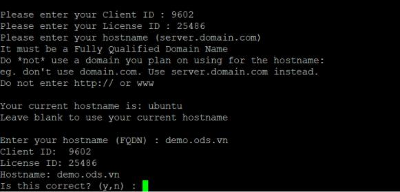 Các bước cài đặt DirectAdmin trên máy chủ Cloud Server Linux - Ảnh 9.