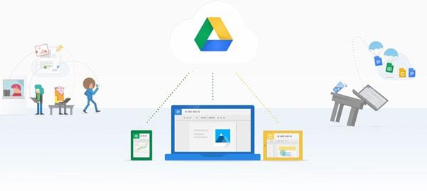 Google Drive hỗ trợ lưu trữ, đọc những loại tập tin