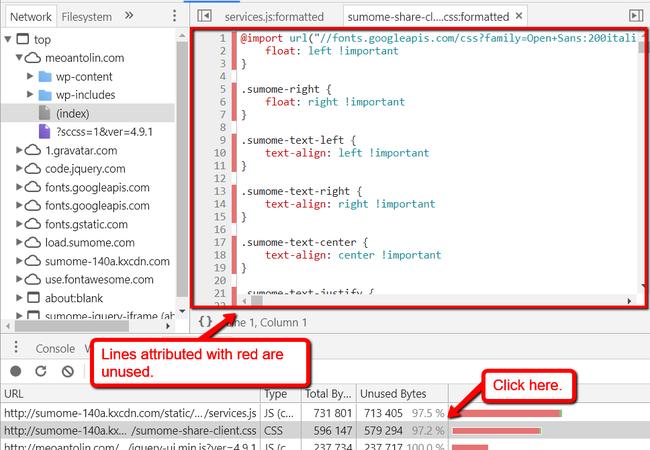 Tối ưu, nén CSS và JS tăng tốc độ tải trang - Ảnh 14.