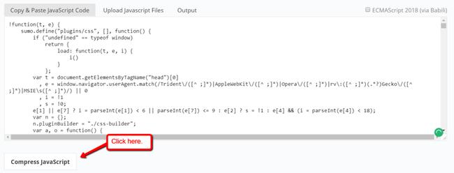 Tối ưu, nén CSS và JS tăng tốc độ tải trang - Ảnh 8.