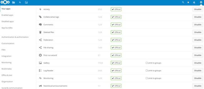 ownCloud là gì và Nextcloud là gì? So sánh ownCloud và Nextcloud - Ảnh 8.