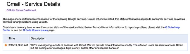 Gmail, Drive, Youtube và nhiều dịch vụ khác của Google gặp sự cố - Ảnh 3.