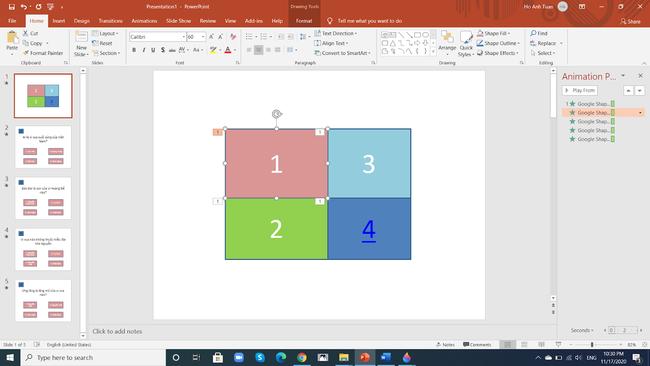 Hướng dẫn cách làm trò chơi trên PowerPoint cực đơn giản  - Ảnh 14.