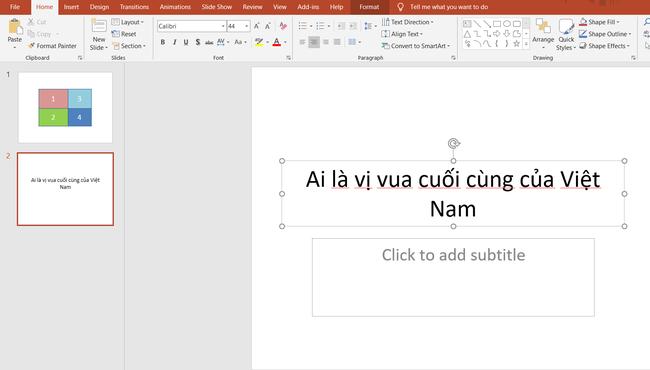 Hướng dẫn cách làm trò chơi trên PowerPoint cực đơn giản  - Ảnh 5.