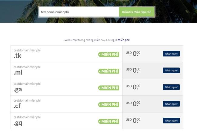 Top 6 website cung cấp tên miền miễn phí - Ảnh 6.