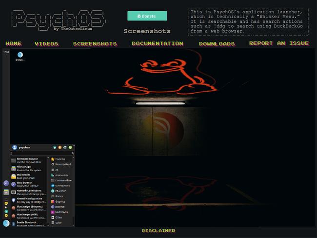 PSYCHOS: Phiên bản Linux với style hoài cổ dành cho PC đời trước - Ảnh 2.